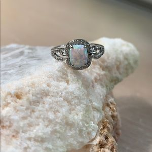 Charmed Aroma Opal Ring